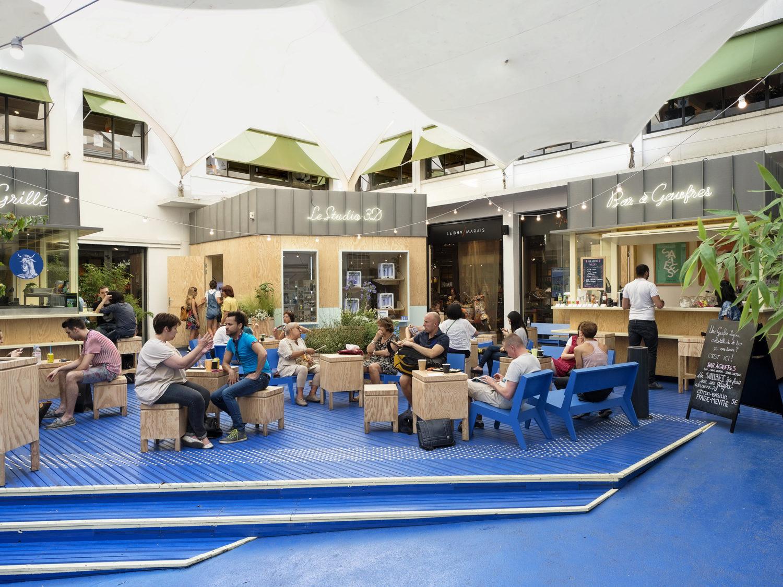La cour bleue - Forall Studio